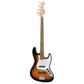 Fender Squier Affinity Series Jazz Bass IL Brown Sunburst Product Image