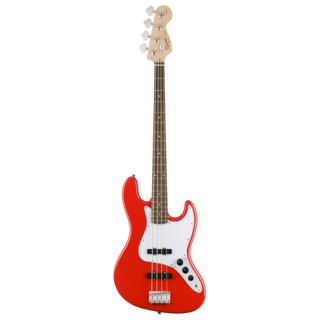 Fender Squier Affinity Series Jazz Bass IL Race Red Product Image