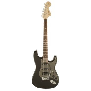 Fender Squier Affinity Series Stratocaster HSS IL Montego Black Metallic Product Image