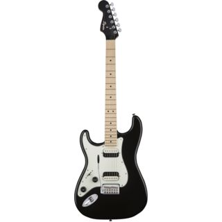 Fender Squier Contemporary Stratocaster HH Lefthand MN Black Metallic Изображение товара
