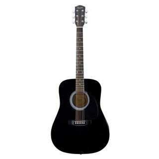 Fender Squier SA105 Acoustic Guitar, Black    Produktbillede