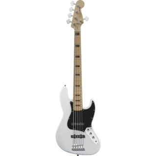 Fender Squier Squier VM J-Bass V MN OW Olympic White, 5-String Product Image