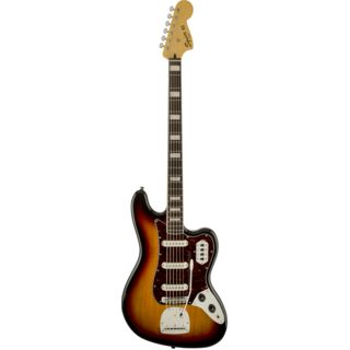 Fender Squier Vintage Modified Bass VI IL 3-Color Sunburst Изображение товара