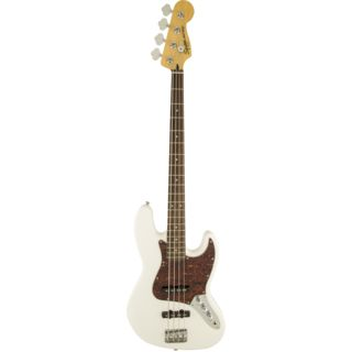 Fender Squier Vintage Modified Jazz Bass Olympic White Image du produit