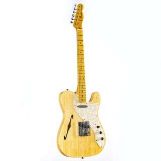 Fender Vintage Custom 1968 Thinline Telecaster Aged Natural #CZ545716 Product Image