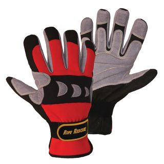 FerdyF. Rope Rescue Gloves,Size L red-grey Product Image