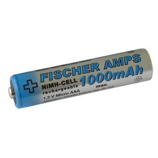 Fischer Amps Micro AAA Battery 1000mAh NiMH  Product Image