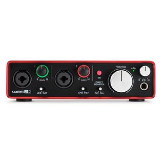 Focusrite Scarlett 2i2 2nd Gen Product Image