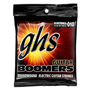 GHS E-Git.Saiten 10-38 Boomers Nickel Plated Roundwound Product Image