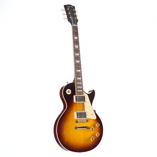 Gibson 1958 Les Paul Standard Plain Top Faded Tobacco #87085 Image du produit