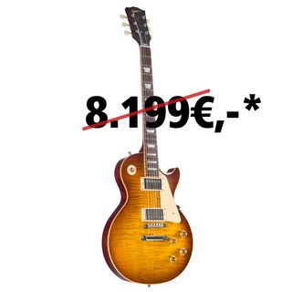 Gibson 1959 Les Paul Standard Figured Iced Tea #97413 Image du produit
