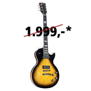 Gibson Les Paul Deluxe Player Plus 2018 Satin Vintage Sunburst Image du produit