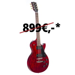 Gibson Les Paul Faded 2018 Worn Cherry Produktbillede