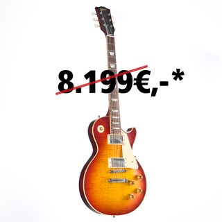 Gibson Les Paul Standard Figured VOS Washed Cherry #97942 Image du produit