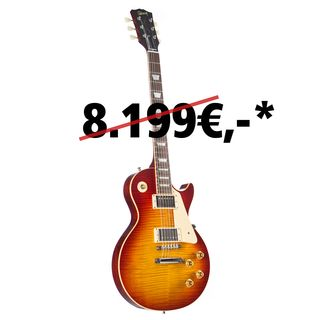 Gibson Les Paul Standard Figured Washed Cherry #97533 Image du produit