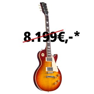 Gibson Les Paul Standard Figured Washed Cherry #97538 Image du produit