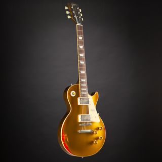 Gibson Les Paul Standard Gold over Sunburst Aged #87990 Product Image