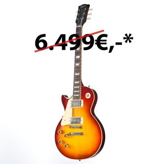 Gibson Les Paul Standard Plain Top Lefthand Washed Cherry #87424 Image du produit