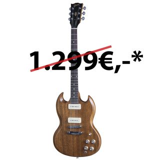 Gibson SG Naked 2016 Limited Edition Walnut Vintage Gloss Produktbillede