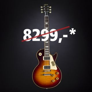 Gibson True Historic 1960 Les Paul Reissue Vintage Dark Burst #05116 Image du produit