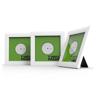"Glorious Vinyl Frame Set 7"" White Product Image"