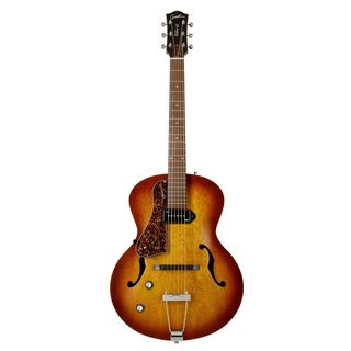 Godin 5th Avenue Kingpin P90 CB Left Cognac Burst, Lefthand Product Image