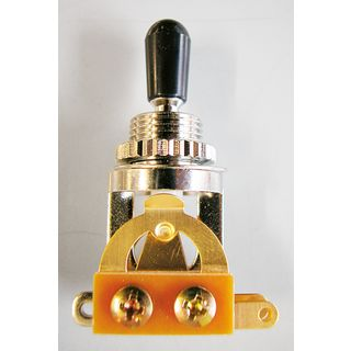 Göldo Deluxe 3-Weg Toggle Switch Gold-Kontakte Produktbild