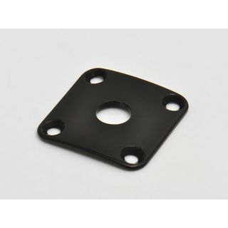 Göldo JLP0B 4-Hole Curved Jack Plate for Les Paul (Black) Product Image