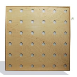 greenacoustics De-Mitter Wood & Cloth Absorber Panel (Natural) Product Image
