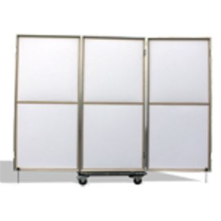 greenacoustics Mobile-Trio 3x Broadband Absorber Panels (White) Product Image