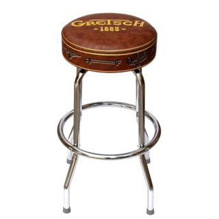 "Gretsch ""1883"" Bar Stool Brown Vinyl 30"" Product Image"