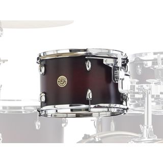 "Gretsch Catalina Maple Tom 8""x7"", Satin Deep Cherry Burst #SDCB Product Image"