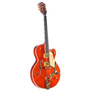 Gretsch G6120TFM Players Edition Nashville Bigsby Flame Maple Orange Stain Εικόνα προιόντος