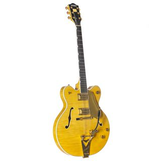 Gretsch G6122TFM Players Edition Country Gentleman Bigsby Amber Stain Product Image