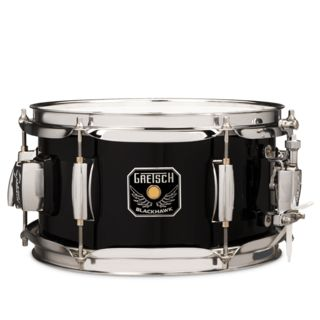"Gretsch Mighty Mini Snare 10""x5,5"", Black, incl. GTS Mount Product Image"