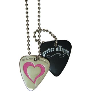 Grover Allman Halskette Heart Metallpick + extra Pick Product Image