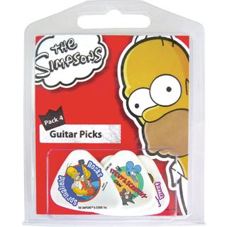 Grover Allman The Simpsons Plectrum-Set #4 5-Pack, medium Product Image