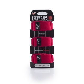 Gruv Gear Fret Wraps HD Fire Red Large, 3er Pack Product Image