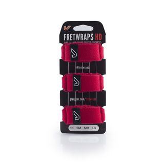 Gruv Gear Fret Wraps HD Fire Red Small, 3er Pack Product Image