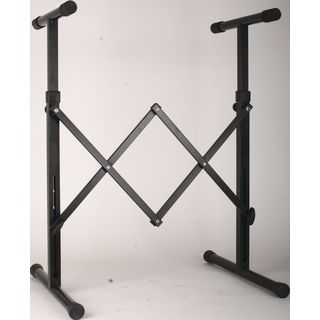 GVI keyboard stand, black 590-800 mm Product Image