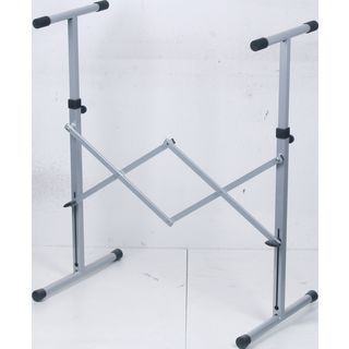 GVI keyboard stand, silver, high 720-1150 mm Product Image