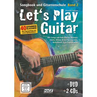 Hage Musikverlag Let's Play Guitar 2 Product Image