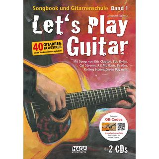 Hage Musikverlag Let's Play Guitar Product Image