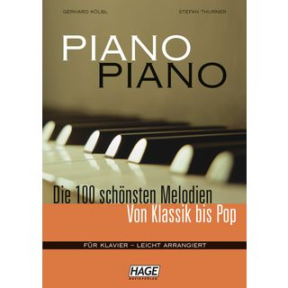 Hage Musikverlag Piano Piano - 100 Melodies  Product Image