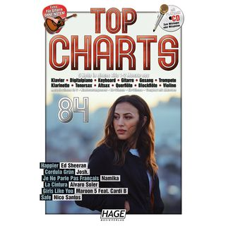 Hage Musikverlag Top Charts 84 Product Image