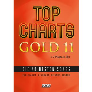 Hage Musikverlag Top Charts Gold 11 Product Image
