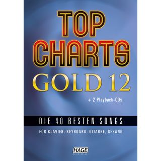 Hage Musikverlag Top Charts Gold 12 Product Image