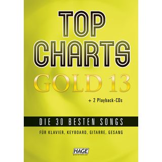 Hage Musikverlag Top Charts Gold 13 Product Image