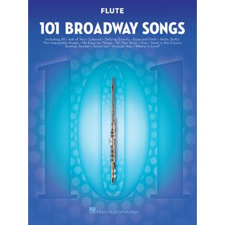 Hal Leonard 101 Broadway Songs: Flute Product Image