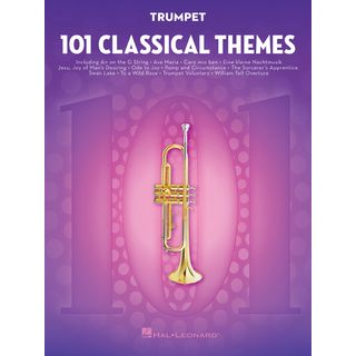 Hal Leonard  101 Classical Themes For Trumpet Product Image